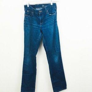 J.Crew Matchstick Slim Straight Jeans 30